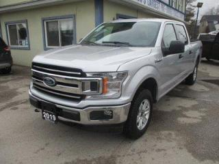 Used 2019 Ford F-150 LIKE NEW XLT EDITION 6 PASSENGER 5.0L - V8.. 4X4.. CREW-CAB.. SHORTY.. TRAILER BRAKE.. BACK-UP CAMERA.. BLUETOOTH SYSTEM.. KEYLESS ENTRY.. for sale in Bradford, ON