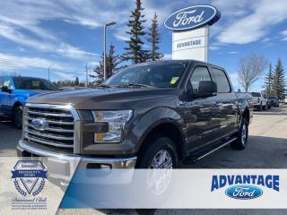 Used 2016 Ford F-150 XLT Clean Carfax - Voice-Activated Navigation for sale in Calgary, AB