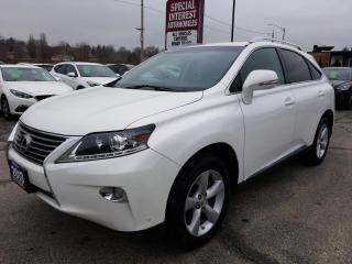 Used 2013 Lexus RX 350 NAVIGATION !!  SUNROOF !!  LEATHER !! for sale in Cambridge, ON