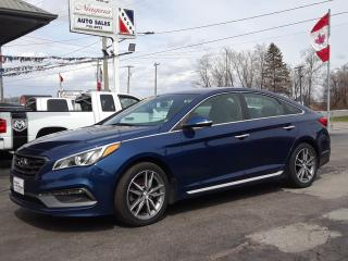 Used 2015 Hyundai Sonata 2.0T for sale in Welland, ON