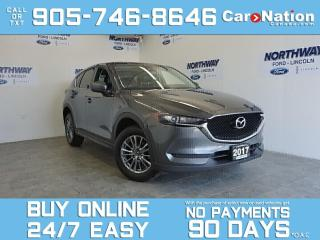 Used 2017 Mazda CX-5 GS | LEATHERETTE | NAV | TOUCHSCREEN for sale in Brantford, ON