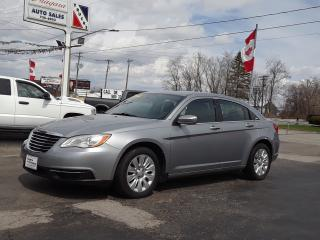 Used 2013 Chrysler 200 LX for sale in Welland, ON