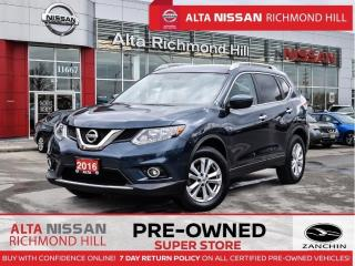 Used 2016 Nissan Rogue SV   Push Start   Heated Seats   Fogs   Alloys for sale in Richmond Hill, ON