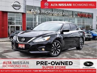 Used 2018 Nissan Altima SV   Blind Spot   Push Start   Heated Steering for sale in Richmond Hill, ON