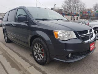 Used 2013 Dodge Grand Caravan R/T-7SEATS-NAVI-BK CAM-BLUETOOTH-LEATHER-AUX-ALLOY for sale in Scarborough, ON