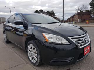 Used 2015 Nissan Sentra SV-EXTRA CLEAN-ECO-153K ONLY-4 CYL-BLUEOOTH-AUX for sale in Scarborough, ON