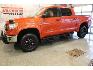 Used 2017 Toyota Tundra SR5 TRD CREW MAX 4X4 for sale in Lévis, QC