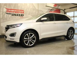 Used 2016 Ford Edge SPORT AWD 2.7 ECOBOOST for sale in Lévis, QC