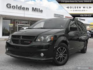 Used 2019 Dodge Grand Caravan GT|Leather|Power Sliding Doors|Bluetooth|Carfax Clean for sale in North York, ON
