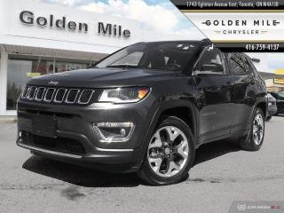 Used 2018 Jeep Compass Limited Navigation, Pano Roof, Leather for sale in North York, ON