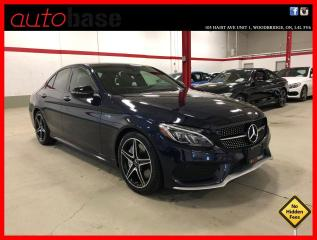 Used 2017 Mercedes-Benz C-Class C43 AMG 4MATIC PREMIUM LED LIGHTING 360 CAM for sale in Vaughan, ON
