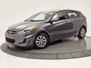 Used 2015 Hyundai Accent GL SIÈGES CHAUFFANTS BLUETOOTH CRUISE for sale in Brossard, QC