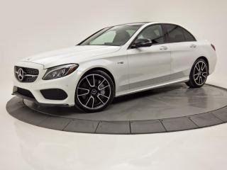 Used 2017 Mercedes-Benz C-Class C43 AMG 4MATIC TOIT PANO NAV CUIR CAM DE RECUL for sale in Brossard, QC