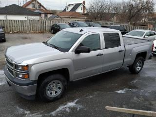Used 2014 Chevrolet Silverado 1500 2WD Crew Cab Standard Box Work Truck w/2WT for sale in Oshawa, ON