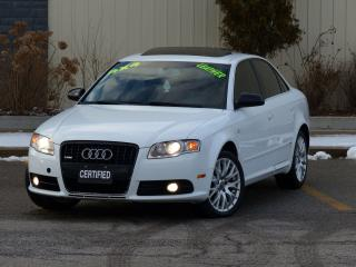 Used 2008 Audi A4 S-LINE,AWD,2.0T,LEATHER,FULLY LOADED,SHOWROOM COND for sale in Mississauga, ON