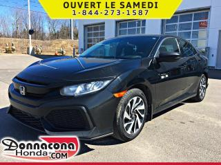 Used 2018 Honda Civic LX *GARANTIE GLOABALE 2021 OU 100 000 KM for sale in Donnacona, QC