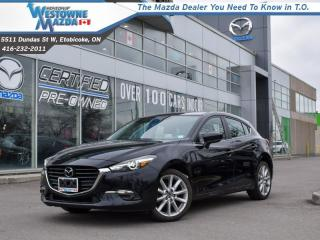 Used 2017 Mazda MAZDA3 GT  - Certified - Sunroof -  Heated Seats for sale in Toronto, ON