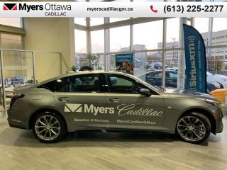 New 2020 Cadillac CTS Sport  CT5 SPORT, AWD, SUNROOF, NAV, SEAT HAPTICS, HEADS UP DISPLAY for sale in Ottawa, ON