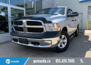 Used 2013 RAM 1500 TRADESMAN - 4X4, QUADCAB, CLOTH, PERFECT WORK TRUCK for sale in Edmonton, AB