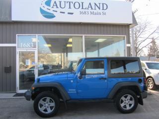 Used 2011 Jeep Wrangler SPORT for sale in Winnipeg, MB