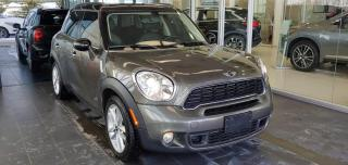 Used 2012 MINI Cooper Countryman S AWD, ACCIDENT FREE, SUNROOF/MOONROOF, HEATED LEATHER SEATS, PADDLE GEAR SHIFTS for sale in Edmonton, AB