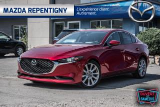 Used 2019 Mazda MAZDA3 GT  FWD - Premium - Cuir - Toit - Nav - Tete Haute for sale in Repentigny, QC