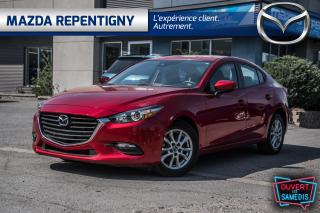 Used 2018 Mazda MAZDA3 GX Auto - 15000 km Seul. - Camera Bluetooth - Mags for sale in Repentigny, QC