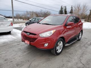 Used 2011 Hyundai Tucson GLS LIMITED LEATHER SUNROOF for sale in Stouffville, ON