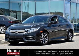 Used 2016 Honda Civic EX AUTO TOIT AUTO*TOIT*SIEGES CHAUFFANTS *AC*BLUETOOTH*CAMERA*++ for sale in Lachine, QC