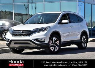 Used 2016 Honda CR-V Touring BAS KM AWD*TOIT*GPS*CUIR*BLETOOTH*++ for sale in Lachine, QC