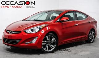Used 2014 Hyundai Elantra Limited CUIR+TOIT.OUVRANT+MAGS for sale in Boisbriand, QC