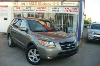 Used 2009 Hyundai Santa Fe Limited LEATHER/ROOF for sale in Toronto, ON