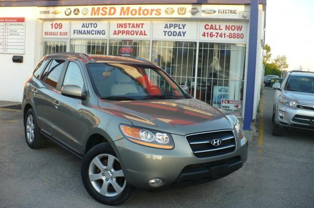 2009 Hyundai Santa Fe Limited LEATHER/ROOF