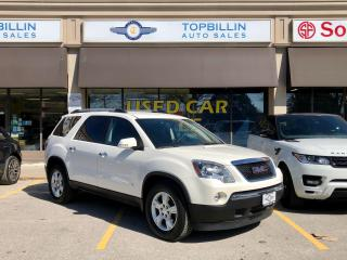 Used 2010 GMC Acadia 2 Years Warranty, 7 Passenger for sale in Vaughan, ON