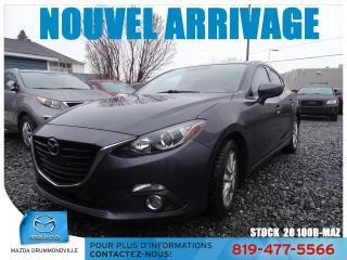 Used 2016 Mazda MAZDA3 |GS|FOG|SIEGCHAUF|CAMERA|MAG|REGVIT| for sale in Drummondville, QC