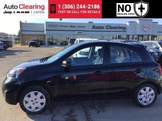 Used 2019 Nissan Micra SV for sale in Saskatoon, SK
