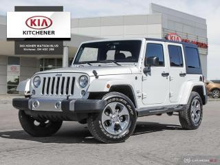 Used 2018 Jeep Wrangler JK Unlimited Sahara for sale in Kitchener, ON
