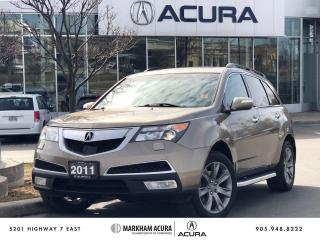 Used 2011 Acura MDX Elite 6sp at for sale in Markham, ON