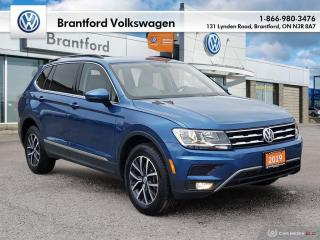 Used 2019 Volkswagen Tiguan Comfortline 2.0T 8sp at w/Tip 4M for sale in Brantford, ON