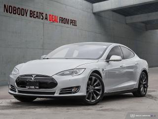 Used 2014 Tesla Model S 85, 7 Pass, NEW Tires, Roof, Sub Zero, EV for sale in Mississauga, ON