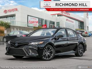 New 2020 Toyota Camry Hybrid SE  - Sport Styling -  Heated Seats - $129.40 /Wk for sale in Richmond Hill, ON