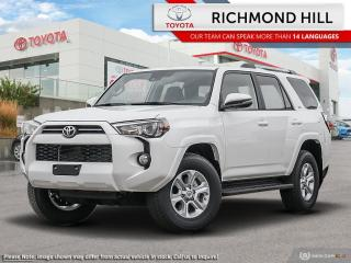 New 2020 Toyota 4Runner Venture  - Navigation -  Off-Road Ready - $186.53 /Wk for sale in Richmond Hill, ON