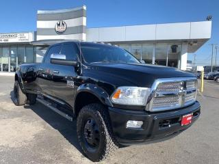 Used 2014 RAM 3500 Laramie Longhorn LIMITED DUALLY 4WD DIESEL TUNED D for sale in Langley, BC