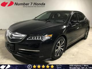 Used 2016 Acura TLX Tech| Leather| Navi| Backup Cam| for sale in Woodbridge, ON