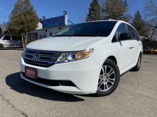 Used 2011 Honda Odyssey Wgn EX 8 seats W RES , back up cam accident feee for sale in Brampton, ON