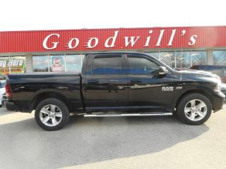 Used 2013 RAM 1500 SPORT! COOLED LEATHER! NAV! REMOTE START! SUNROOF! for sale in Aylmer, ON