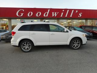 Used 2016 Dodge Journey LTD! HEATED SEATS! REMOTE START! BLUETOOTH! DVD! for sale in Aylmer, ON