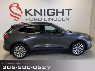 New 2020 Ford Escape Titanium Hybrid, Low Km's, Local! for sale in Moose Jaw, SK