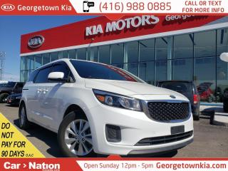 Used 2016 Kia Sedona LX | CLEAN CARFAX | LOW KM | PRKNG SNSRS | ALLOYS for sale in Georgetown, ON