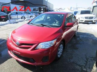 Used 2013 Toyota Corolla 4dr Sdn Auto CE, TOIT OUVRANT for sale in Beauport, QC